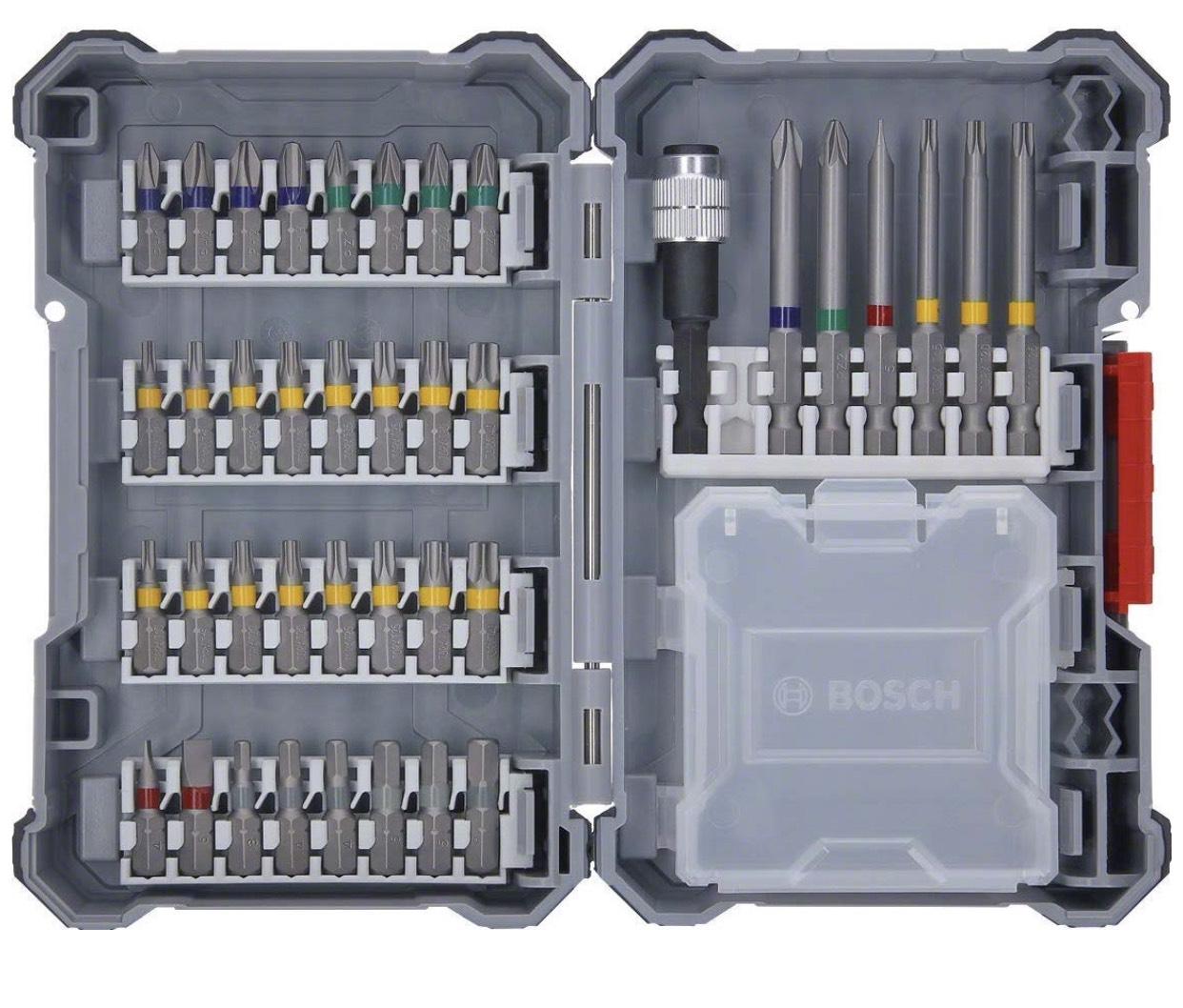 Bosch Professional Akkuschrauber Zubehör Pick & Click Set 40tl (Prime Exklusiv)