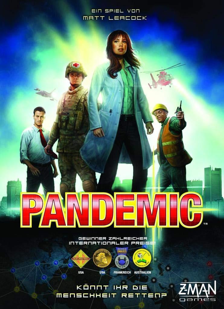 Z-Man Games Pandemie/Pandemic Bestpreis