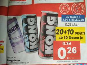 Kong Strong Energy bei Lidl