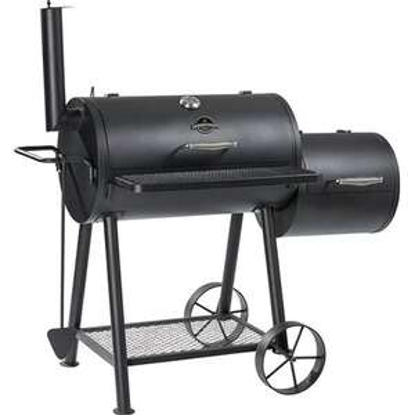 Jamestown Charlton Smoker inkl. Deckelthermometer