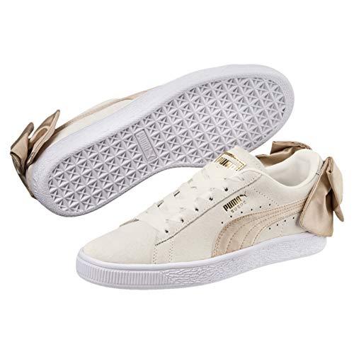 "Puma ""Suede Bow Varsity"" Damen Halb-Leder Sneakers"