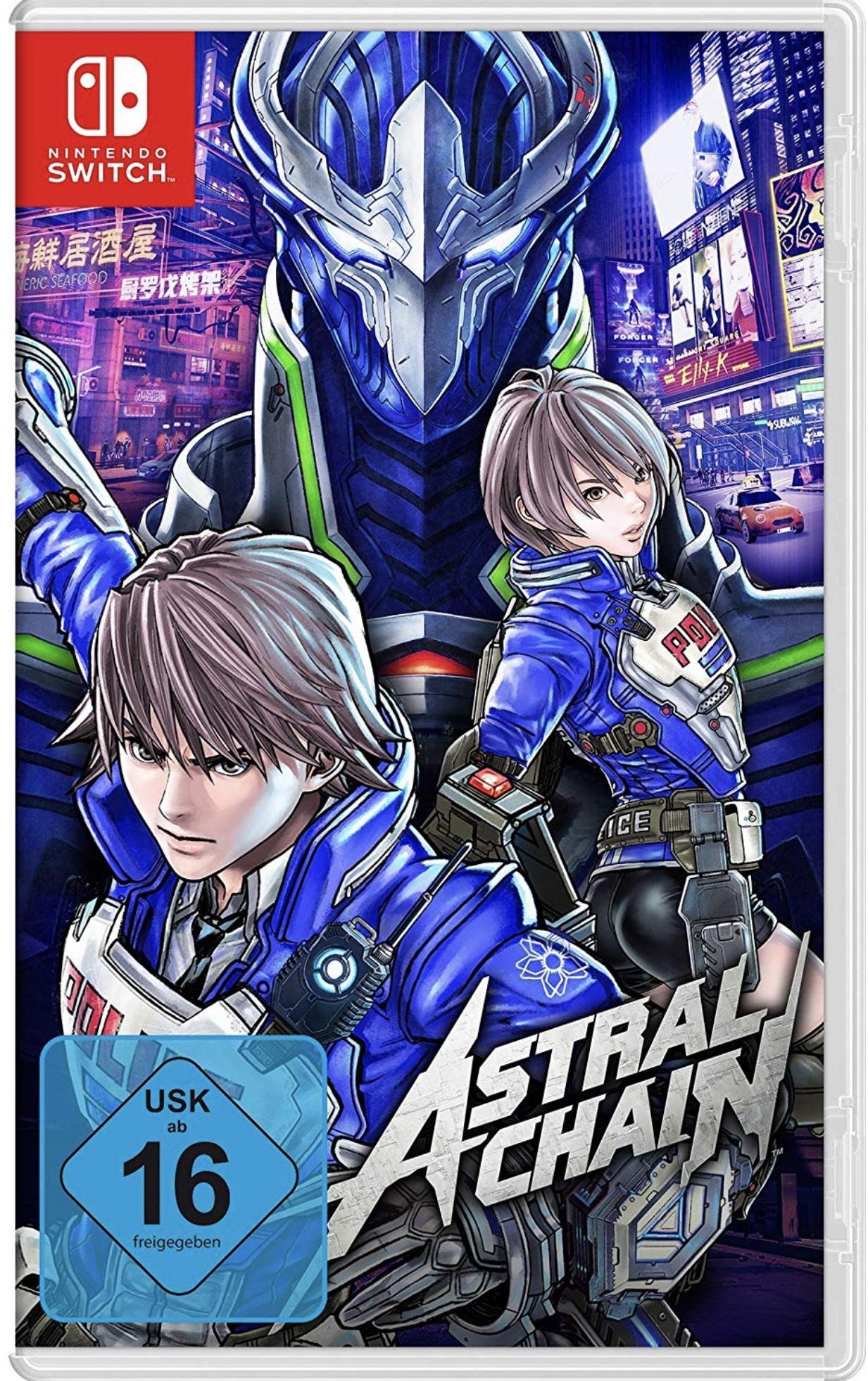 Astral Chain für Nintendo Switch zum Vorbestellen