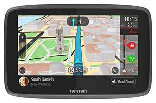 TomTom GO 6200 Pkw-Navi (6 Zoll mit Updates über Wi-Fi, Lebenslang Traffic via SIM-Karte, Weltkarten, Freisprechen)