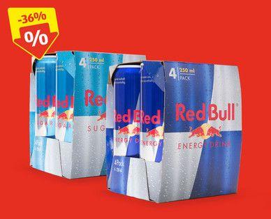 RedBull 4er Tray / pro Dose 0.88€