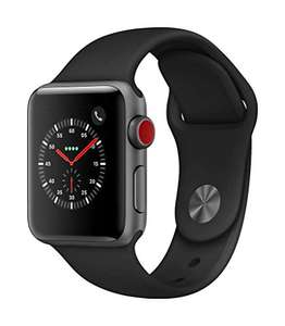 [Amazon.de] Apple Watch Series 3 / 38 mm / GPS + Cellular / Space Grau / Aluminium für 290,42 Euro