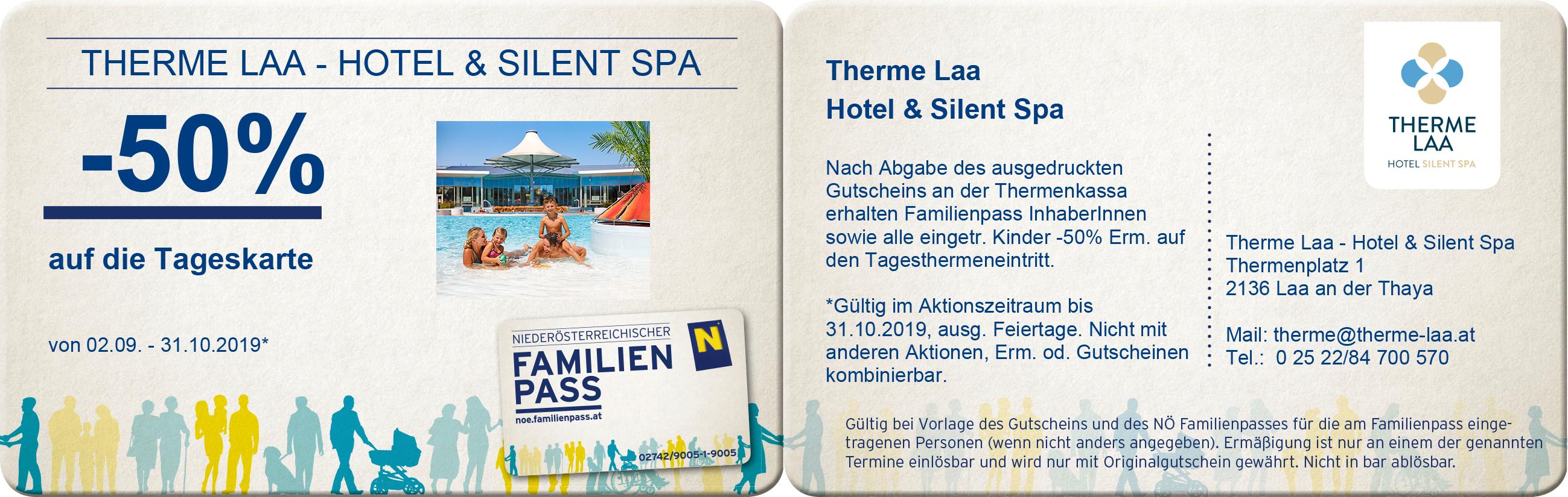 Therme Laa Hotel & Spa -50% auf die Tageskarte