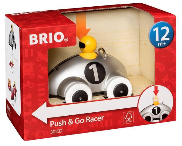 BRIO Push & Go Rennwagen, Silber Edition (30232)