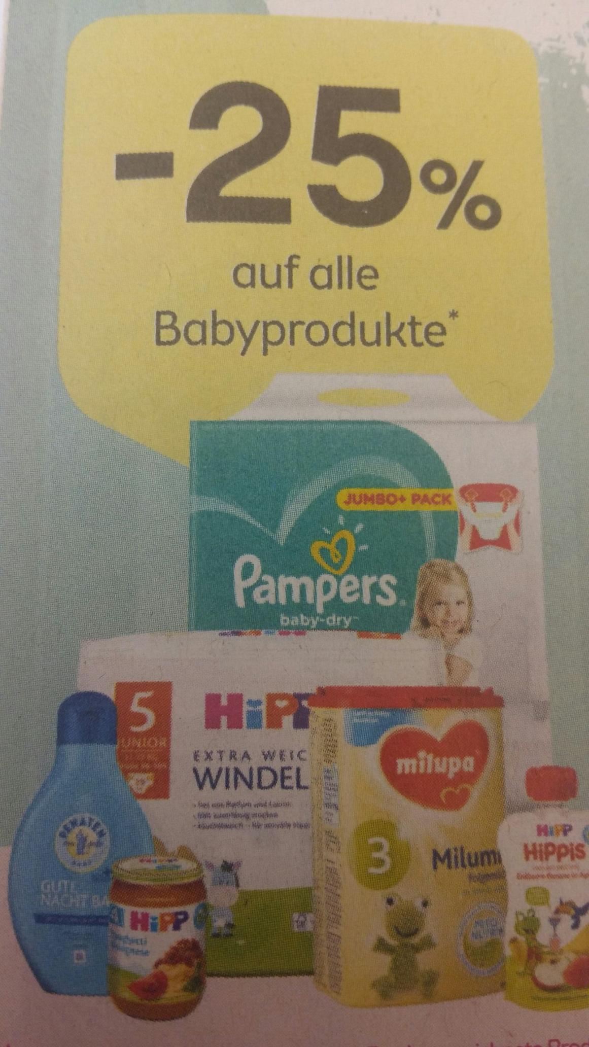 -25% Auf Baby Produkte