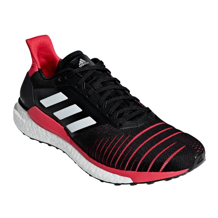 Adidas Laufschuh Solar Glide M schwarz/rot in den Größen 39 1/3 - 48