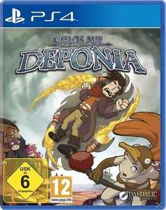 [Libro.at] Chaos of Deponia für Playstation 4