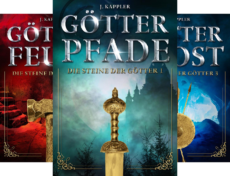 Fantasy E-Books: Steine der Götter 1-4