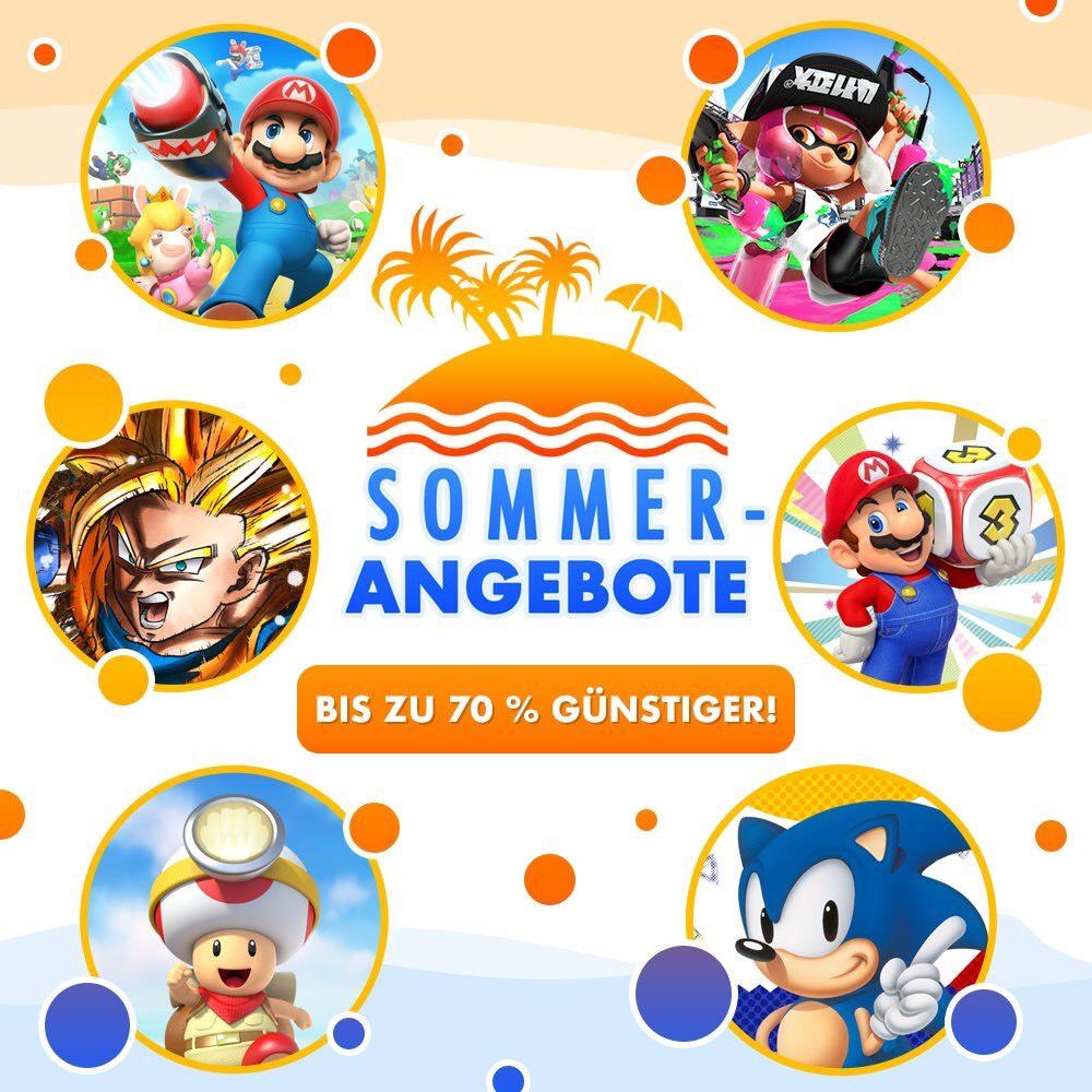 Nintendo eShop Sommeraktion (Switch/Download)