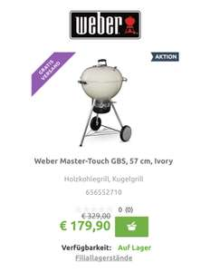 Weber Master-Touch GBS, 57cm Farbe Ivory