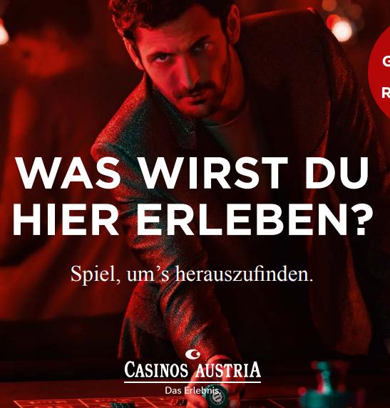 Casino Gutschein im Wert von 30€ um nur 23€
