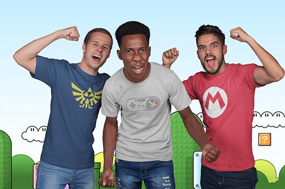 [Zavvi.de] 3 Nintendo Shirts portofrei um 27 Euro