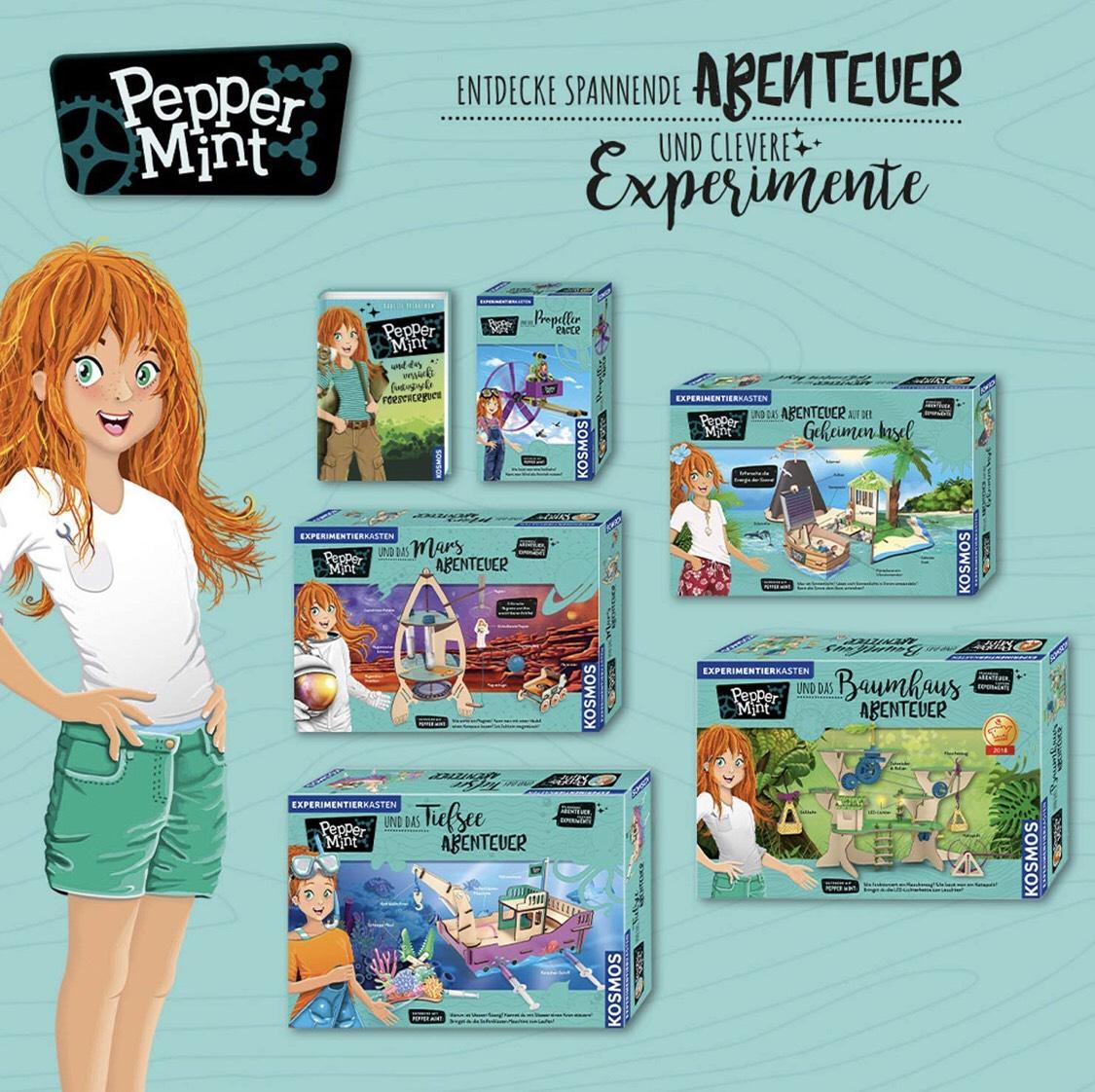 KOSMOS Experimente & Forschung. Pepper Mint und das Tiefsee-Abenteuer