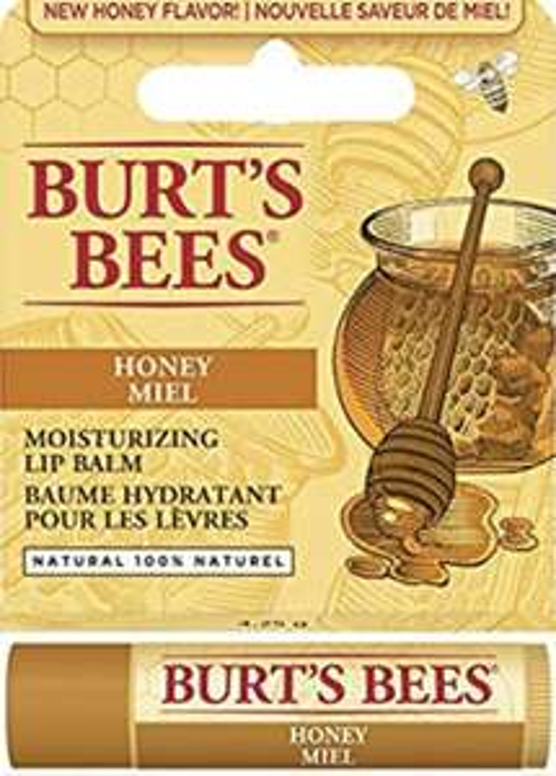 Burt's Bees Lippenbalsam, Bienenwachs mit Honig (PLUS Produkt)