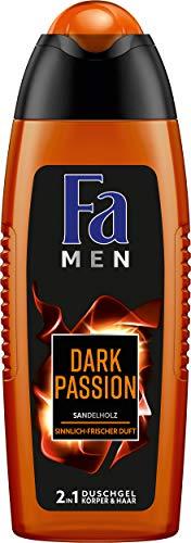 "6x Fa Duschgel ""Men Dark Passion Sensual Fresh"""