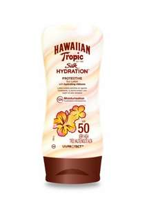 "Hawaiian ""Tropic Silk Hydration Protective Sun Lotion"" Sonnencreme (LSF 50, 180ml)"