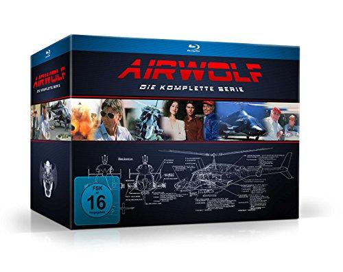 Airwolf - Die komplette Serie [18 Blu-rays]