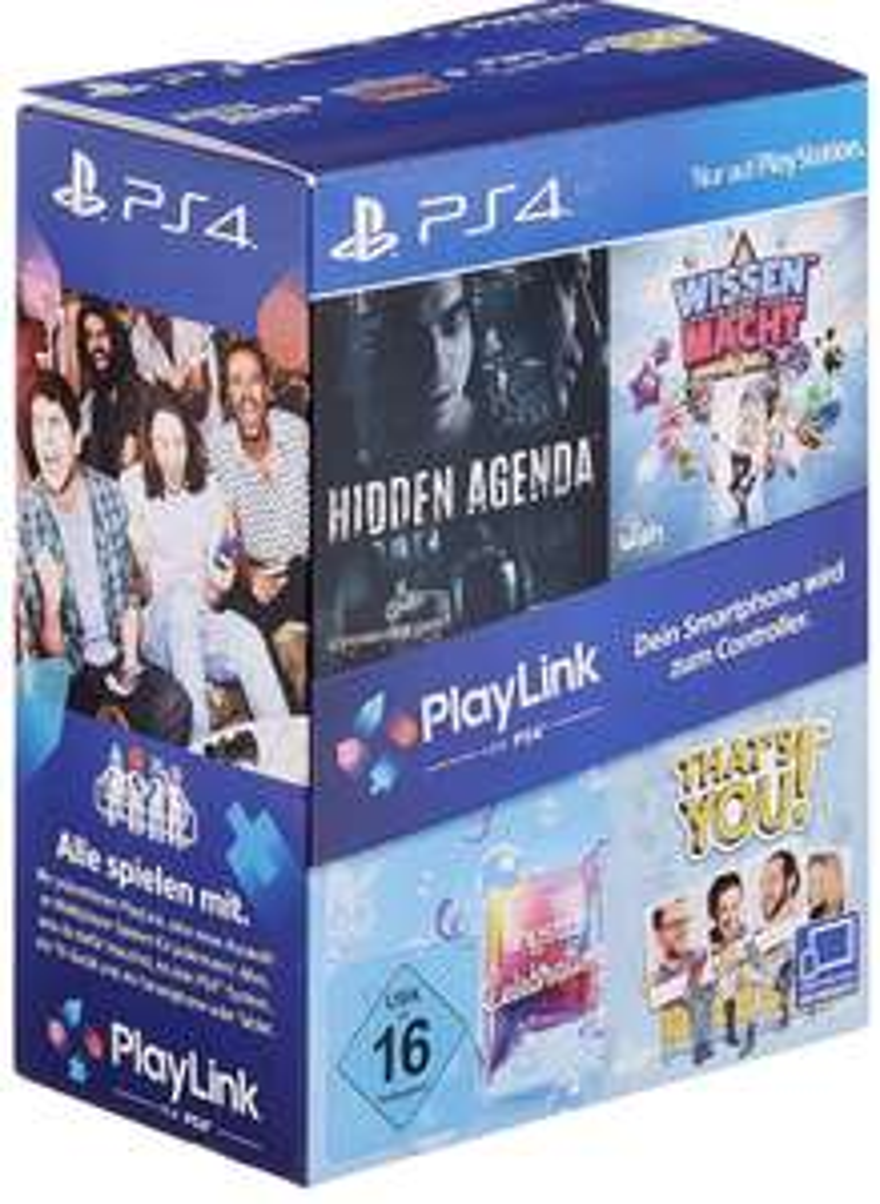 PlayLink Bundle (Wissen ist Macht, Hidden Agenda, SingStar Celebration & That's You!)