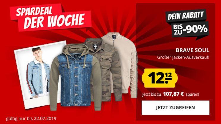 Brave Soul Herren Jacken für 19,07€