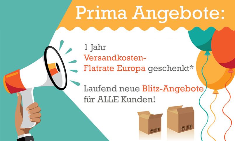 Aktionsartikel für 69 € kaufen und die Europa-Flat kostenlos dazu erhalten