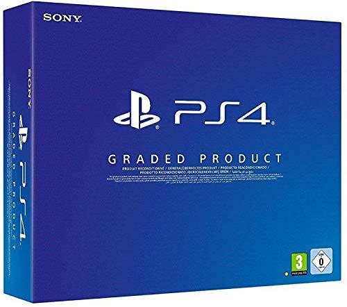 PlayStation 4 - Konsole (Slim, Schwarz, E Chassis, 500 GB, Generalüberholt und Zertifiziert)