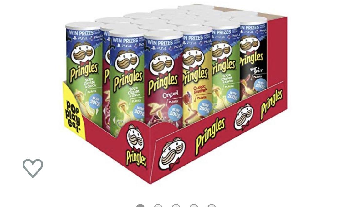 Pringles 18er pack verschiedene Sorten für 18€