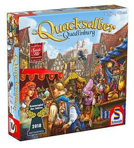Quacksalber von Quedlinburg, Kennerspiel des Jahres 2018 [AMAZON TAGESANGEBOT]
