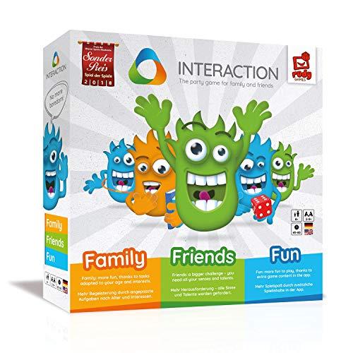 INTERACTION Partyspiel (bekannt aus 2Min2Mio) [Amazon Blitzangebot]