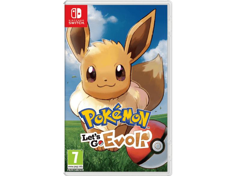 Pokémon: Let's Go - Evoli! (Switch)