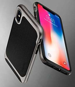 [Amazon] 80 % Coupon für iPhone X Cover (Spigen, 2-teilig, Silikon)