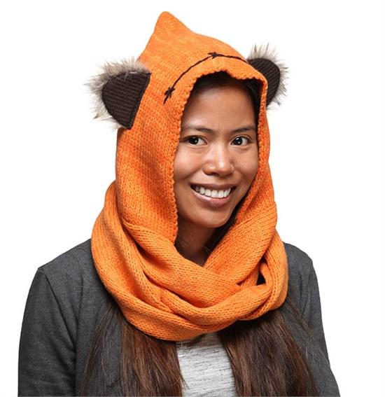 [FescherPreisjäger] Star Wars - Schal Ewok mit Ohren