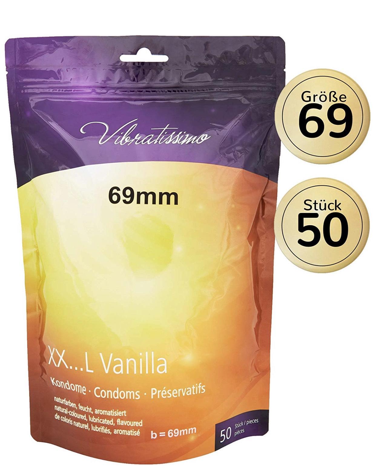 Kinderluftballons mal Anders: AMOR Vibratissimo 50er Pack Kondome in fast allen Größen