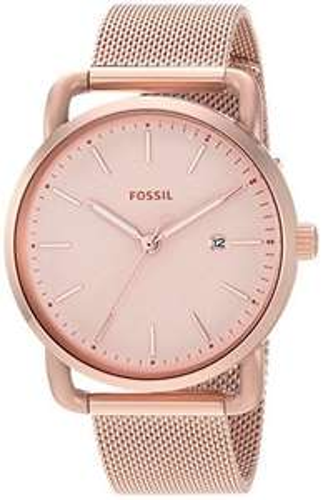 Fossil Damen Quarz-Uhr mit Edelstahl-Armband (ES4333)