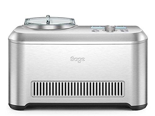 Sage Smart Scoop SCI600 Eismaschine (selbstkühlender Kompressor, 12 Voreinstellungen + manuelle Zeitschaltuhr)