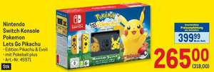 [Metro] Nintendo Switch - Pokémon: Let's Go - Pikachu! Bundle