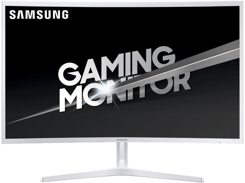SAMSUNG Gaming Monitor C32JG53 31.5 Zoll, silber