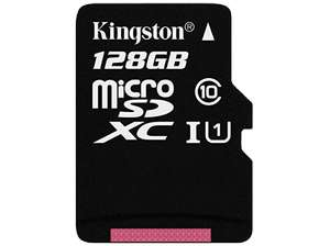 KINGSTON microSDXC 128GB Kit, UHS-I/Class 10
