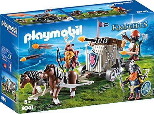 playmobil Knights - Ponygespann mit Zwergenballiste (9341)