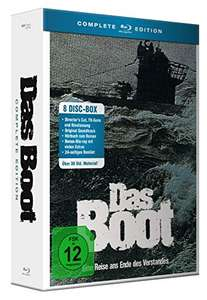 Das Boot - Complete Edition (Blu-ray + CD + Hörbuch 8 Discs)
