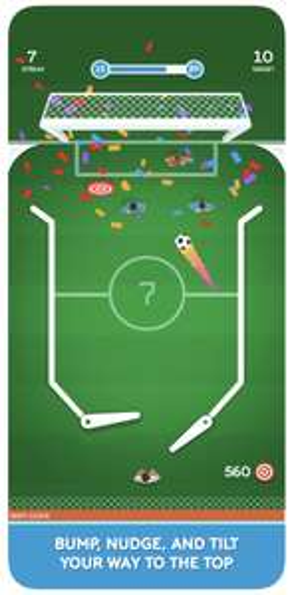 Soccer Pinball Pro: (iOS, keine In-App-Käufe / Werbung)