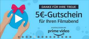 Amazon Prime Video 5 Euro Gutschein