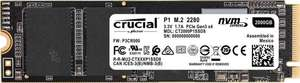 Crucial P1 CT500P1SSD8 500GB Internes SSD (3D NAND, NVMe, PCIe, M.2)