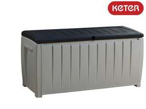 Keter Novel Lagerbox 340L mit Sitzfunktion