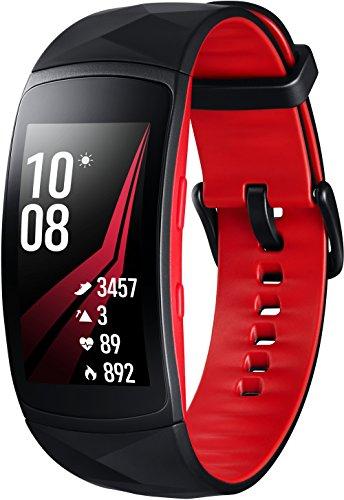 Samsung Gear Fit2 Pro SM-R365 rot / schwarz