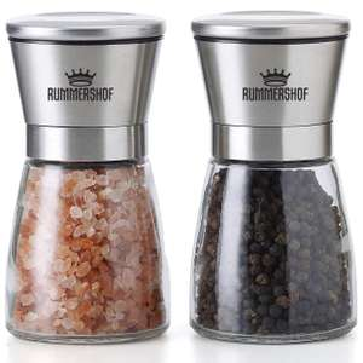 (Schnell sein/Blitzangebot) Rummershof Salz und Pfeffer Mühle Set