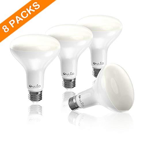 8x LED Glühbirnen (E27, ersetzen 65W, 5000K)