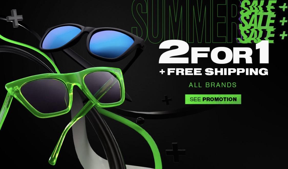 [Hawkers] 1+1 gratis Sonnenbrillen & kostenloser Versand